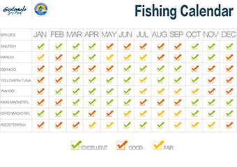 Reports news for Fishing forecast calendar